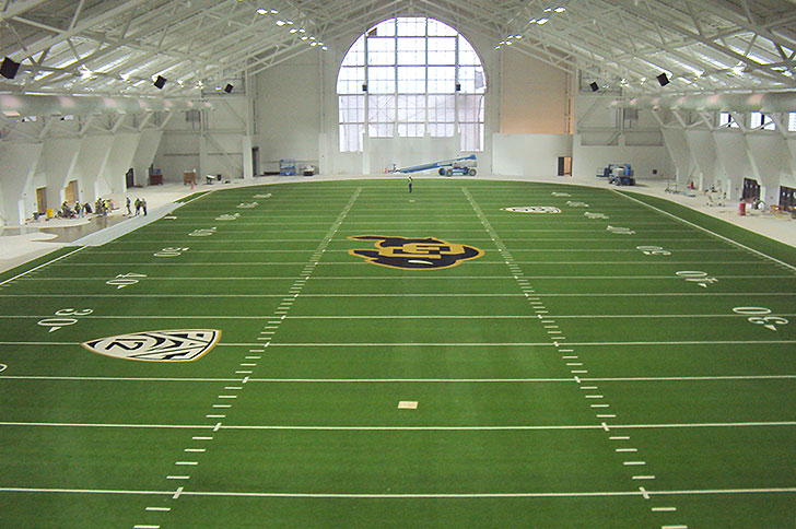 University of Colorado – Champions Center Indoor Practice Facility